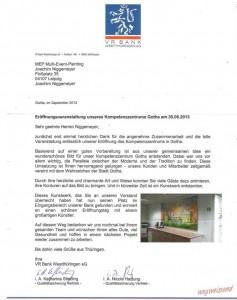 Referenzschreiben VR Bank Gotha... komprimiert
